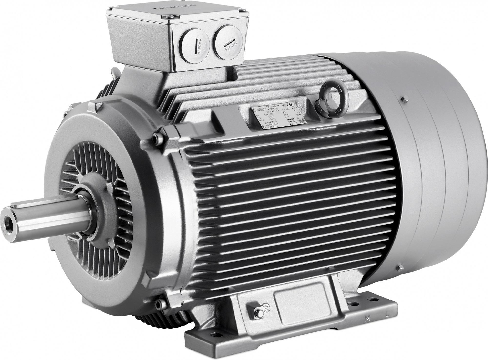 Модель асинхронного электродвигателя с кабелем и устройством коммутации в статорной цепи