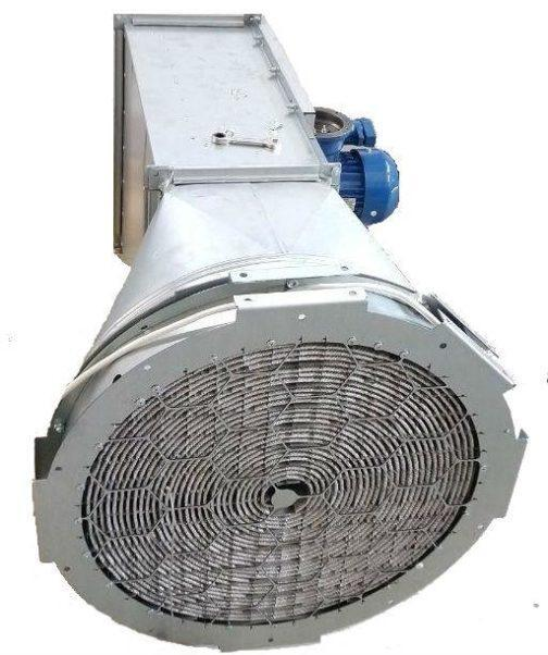 Нагреватель канальный взрывозащищенный 4-НКМУ-Ex-2,08/220-400 8.32 кВт, 220 В, 400 мм 1