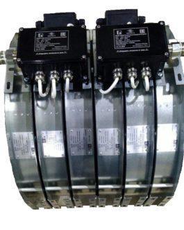 Нагреватель канальный взрывозащищенный 3-НКМУ-Ex-1,8/380-315 5.4 кВт, 380 В, 315 мм