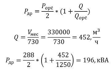 Частотный преобразователь экономия электроэнергии. Пример расчета. 1