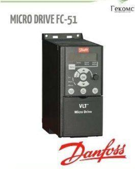 132F0002 FC-051PK37 Danfoss VLT FC-51