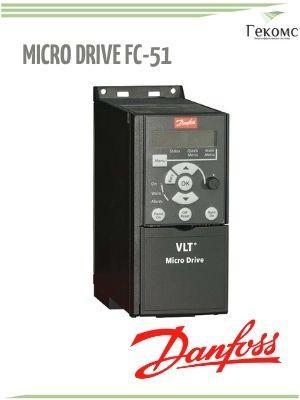 132F0002 FC-051PK37 Danfoss VLT FC-51 1