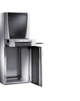 5368.000 ( 5368000 ) Rittal ( Риттал ) PC Шкаф SE 600х1600х800, обз. дверь, поддон для клавиатуры