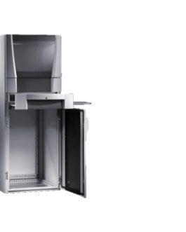 5366.300 ( 5366300 ) Rittal ( Риттал ) PC Шкаф SE 600х1600х600, обз. дверь, поддон для клавиатуры, монт.поверх. малая
