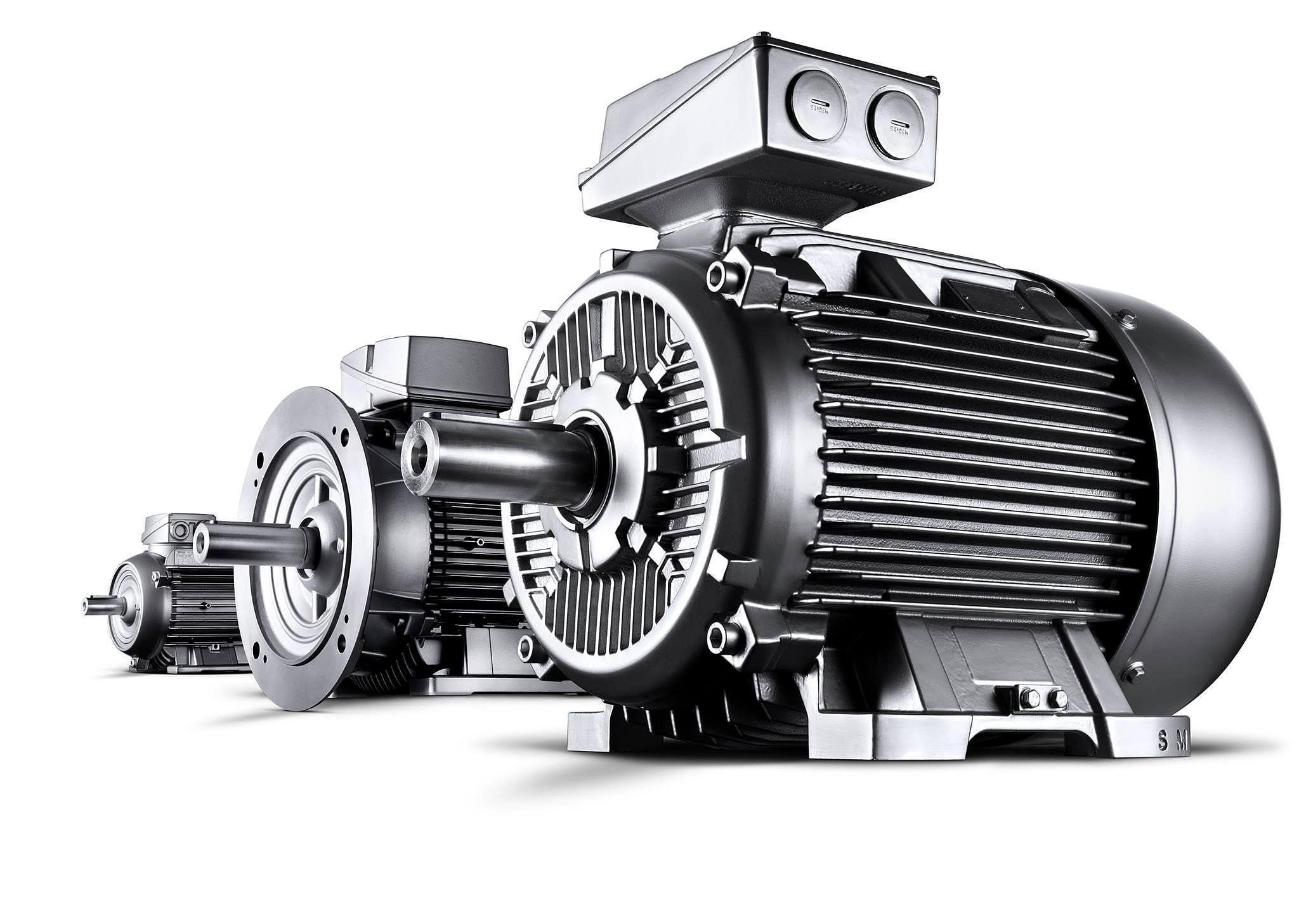 Трёхфазная модель асинхронного двигателя с кабелем и пускателем в статорной цепи