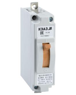 100965 КЭАЗ ВА21 Автоматические выключатели в литом корпусе на токи от 0,6А до 100А