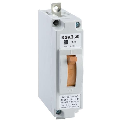 Выключатель автоматический ВА21-29-120010-3