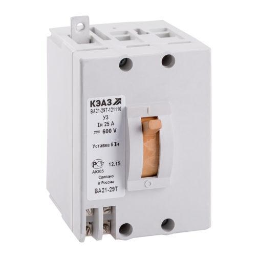 Выключатель автоматический ВА21-29Т-141110-31