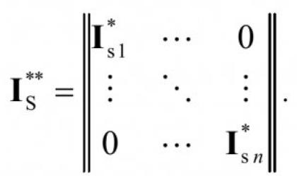 Математическая модель системы электроснабжения горных машин 15