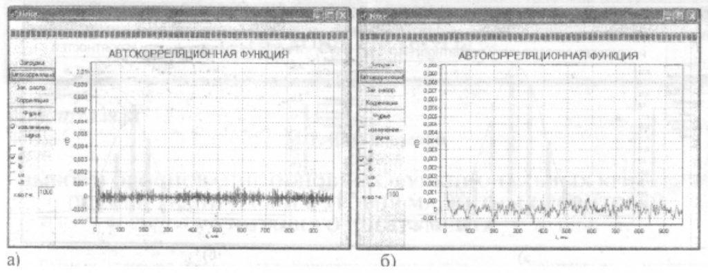 Анализ шумовых процессов в измерительной схеме асинхронного двигателя 2