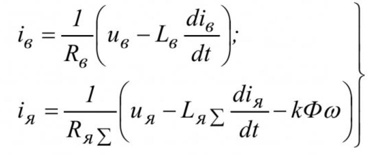 Оценка параметров двигателя постоянного тока с помощью метода наименьших квадратов 2