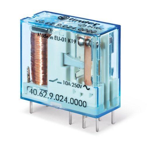 40.62.7.024.0000 (406270240000) Finder (Финдер) Миниатюрное универсальное электромеханическое реле 1