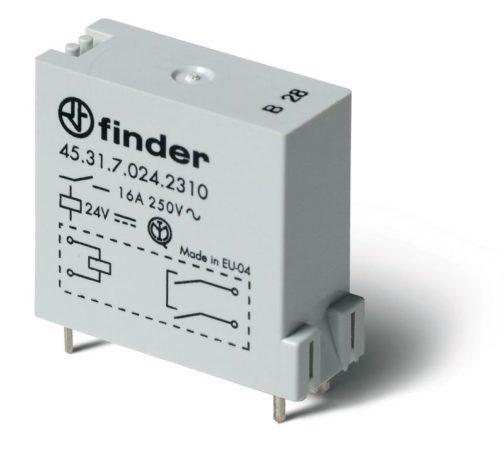 45.31.7.012.0310 (453170120310) Finder (Финдер) Низкопрофильное миниатюрное электромеханическое реле 1