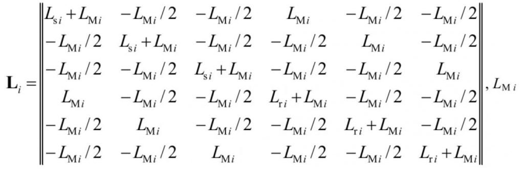 Математическая модель системы электроснабжения горных машин 5