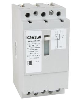 Выключатель автоматический АЕ2046М-400-8А-12Iн-400AC-У3-КЭАЗ КЭАЗ (KEAZ) 104672