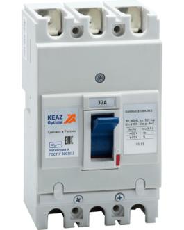 100003 Выключатель автоматический OptiMat E100L032-УХЛ3 КЭАЗ (KEAZ)
