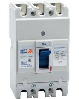 100005 Выключатель автоматический OptiMat E100L050-УХЛ3 КЭАЗ (KEAZ)
