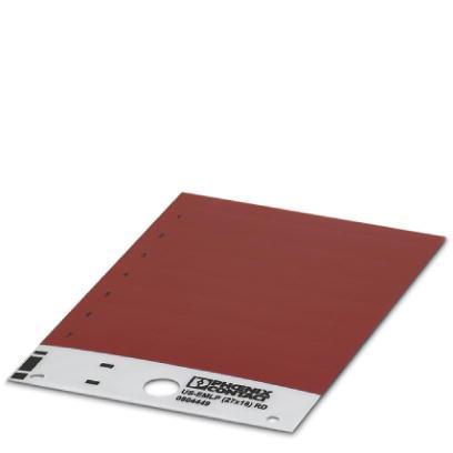 0804449 Пластиковая табличка US-EMLP (27X18) RD