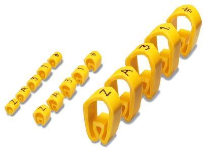 0800556:C Маркировочные кольца для проводников PMH 3:GROSSBUCHSTABEN C
