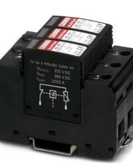 2800642 Разрядник для защиты от импульсных перенапряжений, тип 2 VAL-MS 600DC-PV/2+V Phoenix Contact (Феникс Контакт) Промышленное оборудование