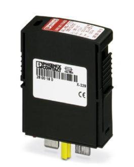 2800190 Штекерный модуль для защиты от перенапряжений, тип 1/2 VAL-MS-T1/T2 335/12.5 ST Phoenix Contact (Феникс Контакт) Промышленное оборудование