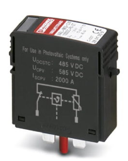 2800624 Штекерный модуль для защиты от перенапряжений, тип 2 VAL-MS 1000DC-PV-ST Phoenix Contact (Феникс Контакт) Промышленное оборудование
