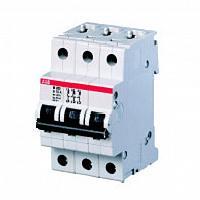 Модульный автоматический выключатель M203 63A ABB (АВВ)