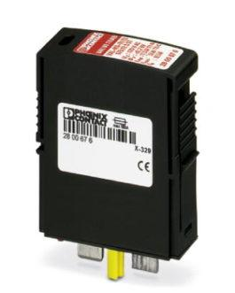 2800676 Штекерный модуль для защиты от перенапряжений, тип 1/2 VAL-MS-T1/T2 175/12.5 ST Phoenix Contact (Феникс Контакт) Промышленное оборудование