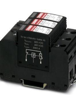 2800641 Разрядник для защиты от импульсных перенапряжений, тип 2 VAL-MS 600DC-PV/2+V-FM Phoenix Contact (Феникс Контакт) Промышленное оборудование