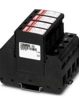 2800645 Молниеотвод / разрядник для защиты от импульсных перенапряжений типа 1/2 VAL-MS-T1/T2 335/12 Phoenix Contact (Феникс Контакт) Промышленное оборудование