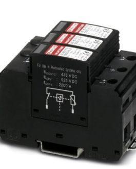 2801161 Молниеотвод / разрядник для защиты от импульсных перенапряжений типа 1/2 VAL-MS-T1/T2 1000DC Phoenix Contact (Феникс Контакт) Промышленное оборудование