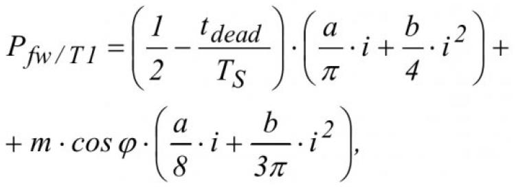 Проблемы определения потерь в преобразователях частоты с ШИМ при использовании транзисторных модулей различных производителей 8