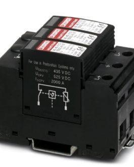 2801160 Молниеотвод / разрядник для защиты от импульсных перенапряжений типа 1/2 VAL-MS-T1/T2 1000DC Phoenix Contact (Феникс Контакт) Промышленное оборудование