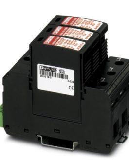 2800672 Разрядник для защиты от имп. перенапряжений типа 1/2 VAL-MS-T1/T2 175/12.5/3+0-FM Phoenix Contact (Феникс Контакт) Промышленное оборудование