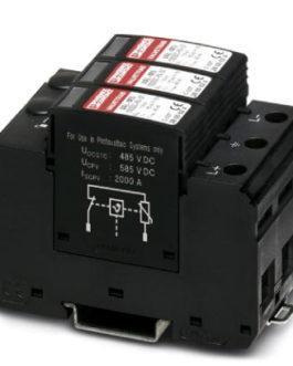 2800628 Разрядник для защиты от импульсных перенапряжений, тип 2 VAL-MS 1000DC-PV/2+V Phoenix Contact (Феникс Контакт) Промышленное оборудование