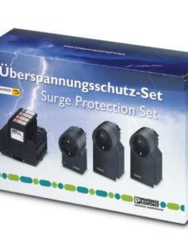 2801022 Комплект устройств защиты от перенапряжений GEB-SET-T1/T2 TAE/TV-SAT Phoenix Contact (Феникс Контакт) Промышленное оборудование