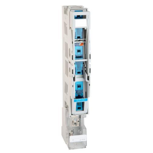 Предохранитель-выключатель-разъединитель планочный OptiVert 00/100-3-VR