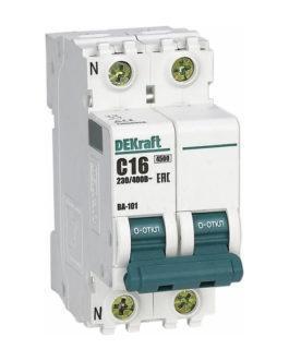 11181DEK DEKraft (Декрафт) Модульный автоматический выключатель