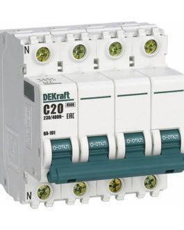 11254DEK DEKraft (Декрафт) Модульный автоматический выключатель