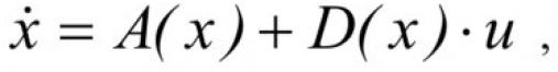 Формирование алгоритма управления плавным пуском асинхронного электродвигателя на основе метода скоростного градиента 1