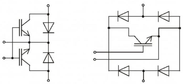 Устройство плавного пуска для нерегулируемых асинхронных электроприводов на полностью управляемых силовых полупроводниковых приборах 3