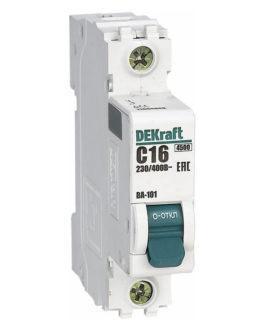 11148DEK DEKraft (Декрафт) Модульный автоматический выключатель