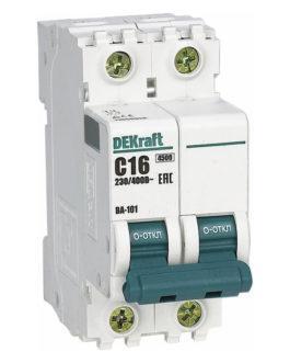 11208DEK DEKraft (Декрафт) Модульный автоматический выключатель