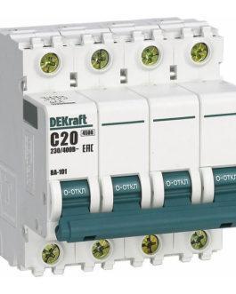 11280DEK DEKraft (Декрафт) Модульный автоматический выключатель