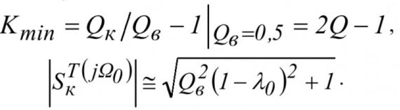 Чувствительность передаточных функций активных RC-цепей 29