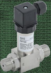 PPT-D-ST-006-4-20-2-2 ONI Преобразователь дифференциального давления PPT30 0,5% 0-6Бар 4-20мА G1/2 DIN43650 ONI
