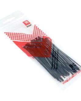 plc-fl-ctsb-2.5×100-r EKF (ЕКФ) Хомут P6.6 стандартный (ч), 2.5×100 (50шт) FlexLock PROxima