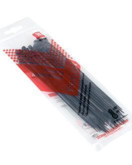 plc-fl-ctsb-2.5×150-r EKF (ЕКФ) Хомут P6.6 стандартный (ч), 2.5×150 (50шт) FlexLock PROxima