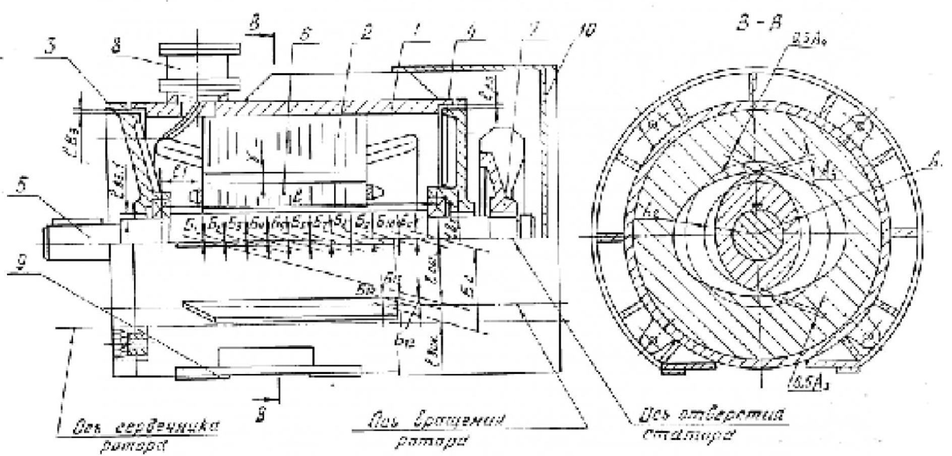 Конструкторско-технологическая модель воздушного зазора взрывозащищенного асинхронного двигателя 2