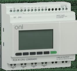 PLR-M-CPU-12R00ADC ONI Микро ПЛК PLR-M. CPU DI08/DO04(R) 24В DC ONI